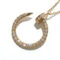 Cartier(カルティエ)K18PG×ダイヤモンド☆ジュスト アン クル ネックレス☆のご紹介♪